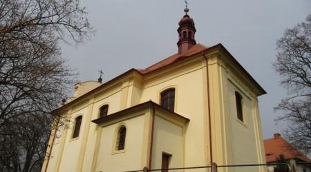 Kostel sv.Václava, Dlažkovice